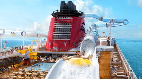 Disney Dream Duck Slide