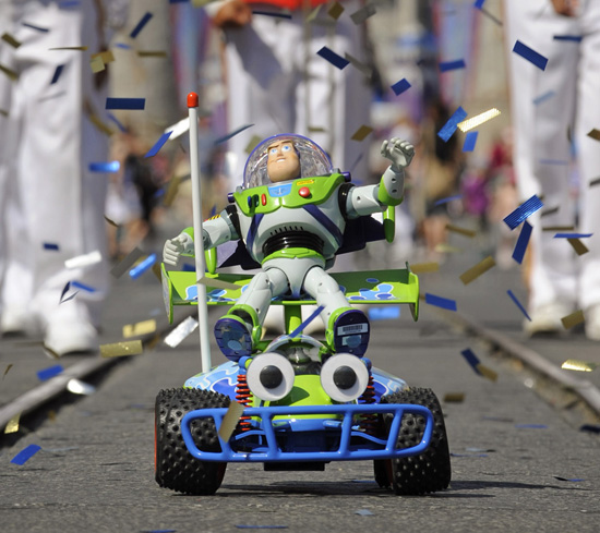 Buzz Lightyear Ticker-Tape Parade