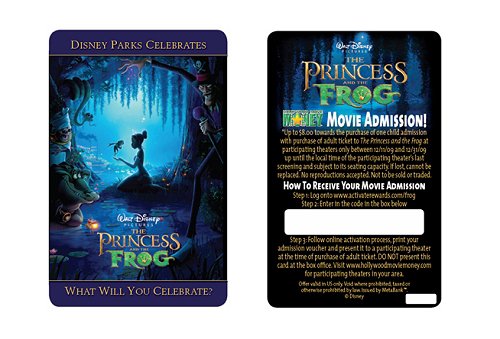 Princess &#038; the Frog Ticket