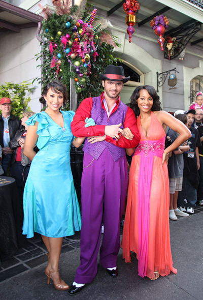 Cheryl Burke, Tony Dovolani and Anika Noni Rose