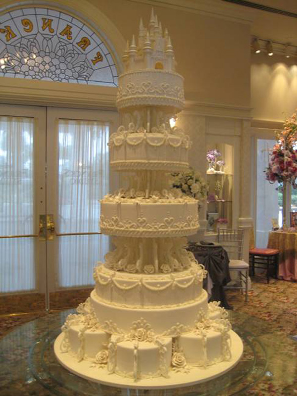 Amazing Cakes Offered At Disneys Fairy Tale Weddings Disney Parks Blog