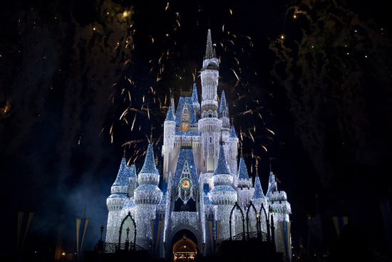 Cinderella's Castle 'Dipped in Sugar'