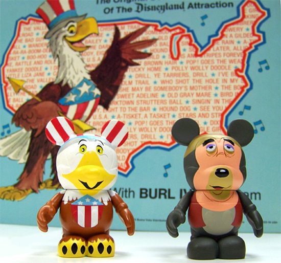Sam the Eagle and Big Al Vinylmation