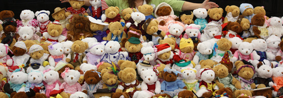 One-of-a-Kind Teddy Bears for the Salvation Army of Central Florida