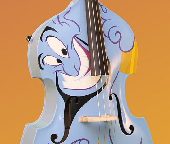 Hand-Painted Genie Bass