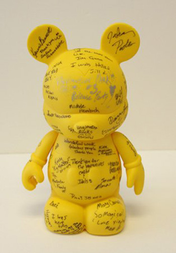 Vinylmation Park #3 Release Party Guest Book