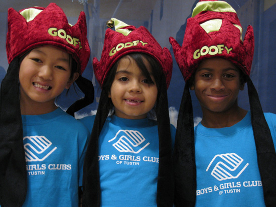 Goofy Hats Donated to Boys & Girls Clubs