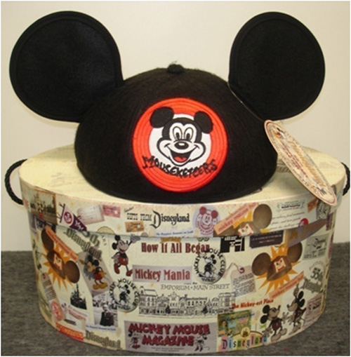 Limited-Edition Mickey Mouse Club Ear Hat