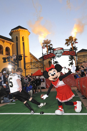 Celebrity Athletes Kickoff ESPN Wide World of Sports Complex Reopening