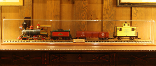 Trains at Disney's Wilderness Lodge Villas