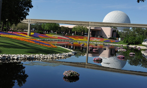 80,000 Bedding Plants Featured During Flower & Garden Festival at Epcot