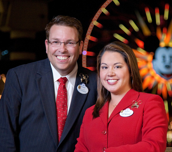 Disneyland Resort Ambassadors Quinn Shurian and Danielle DuBois