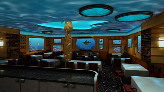 Animators Palate on the Disney Dream