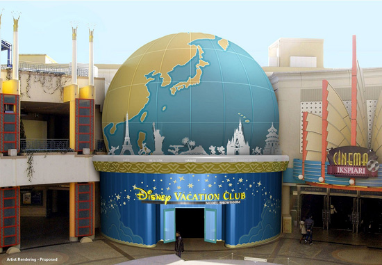 First Disney International Sales Center