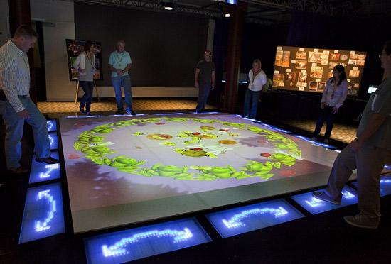 Interactive Play-floor