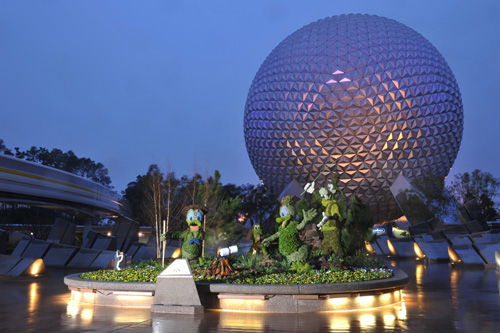 Finishing Touches – Epcot International Flower & Garden Festival