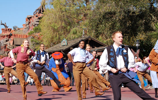 Frontierland Hoedown at Magic Kingdom