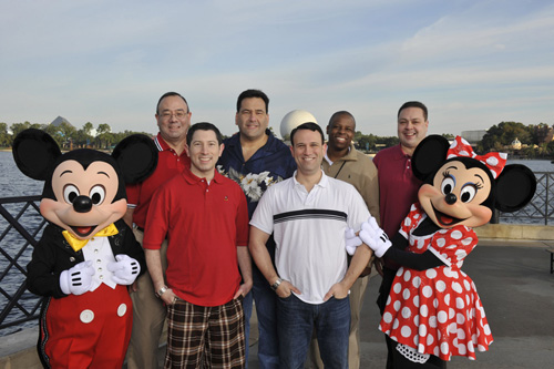 New Dads on the Walt Disney World Moms Panel (Bret Caldwell and Doug Ingersoll Not Pictured)
