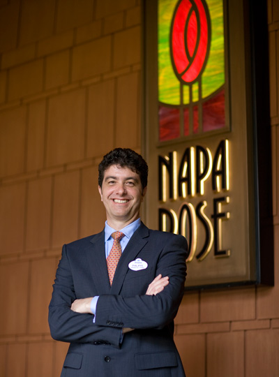 Philippe Tosques, general manager of Napa Rose