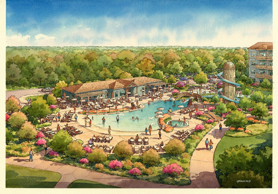 Pool at Saratoga Springs to Get Makeover