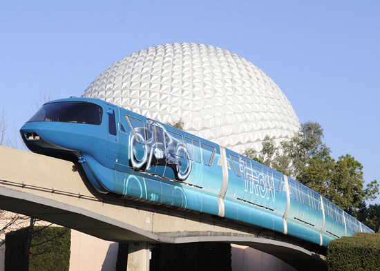 Tron Monorail