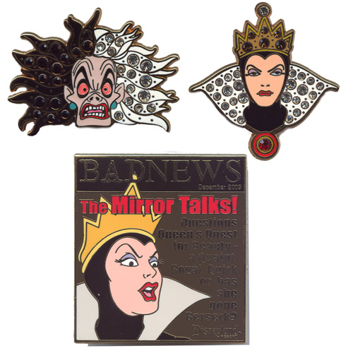 Disney 'Divas' Pins