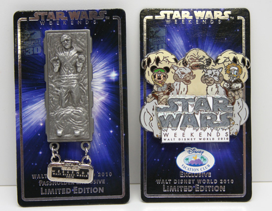 Passholder and Disney Vacation Club Member Exclusive Pins