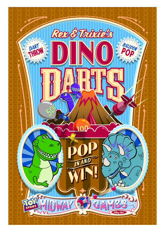Rex and Trixie's Dino Darts