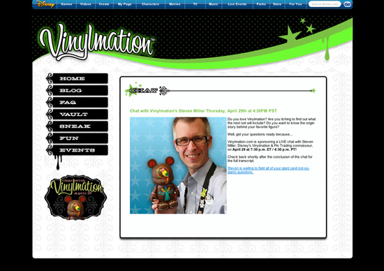 Vinylmation.com Live Chat