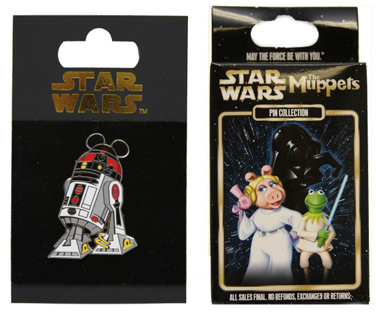 Star Wars Weekends Open Edition Pins