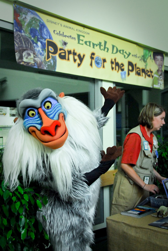 Party for the Planet on Earth Day at Disneys Animal Kingdom