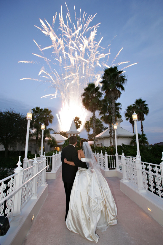 Disneys Fairy Tale Weddings Private Fireworks