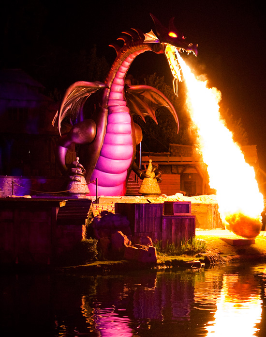 'Fantasmic!' at Disneyland Park