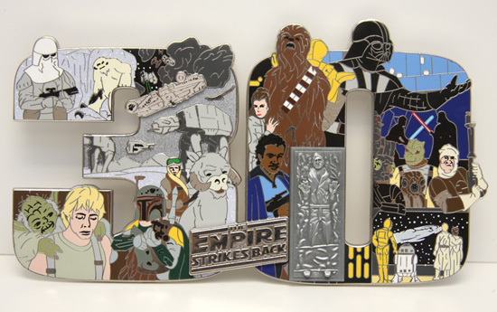 Star Wars Weekends Super Jumbo Pin