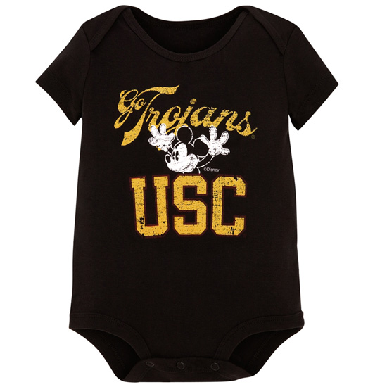 University of Southern California Mickey Mouse Onesie