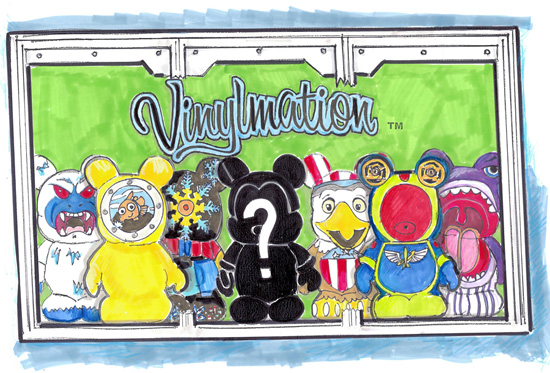 Vinylmation at The Star Trader