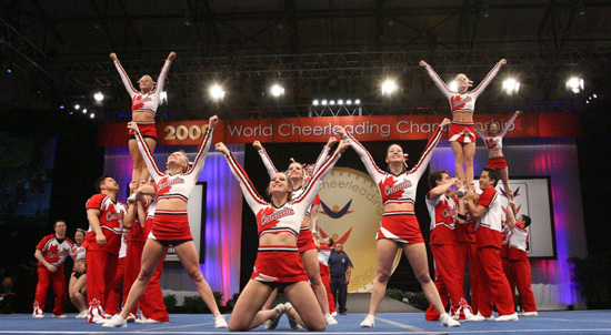 2010 International Cheer Union World Championships at ESPN Wide World of Sports Complex