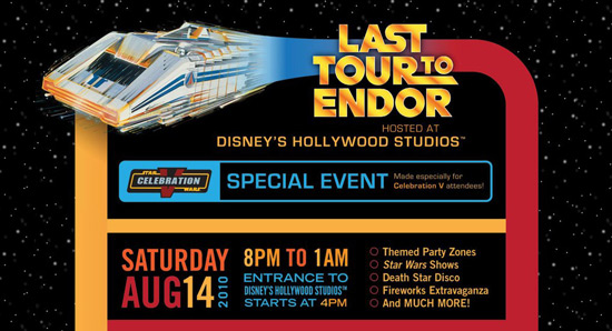 Last Tour to Endor Special Event Announcement