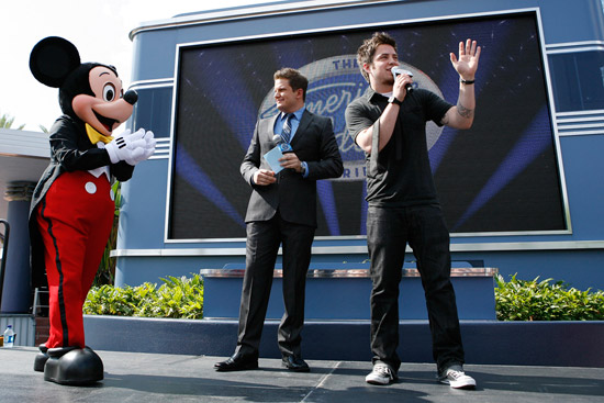 'American Idol' Champion Lee DeWyze at Disney's Hollywood Studios