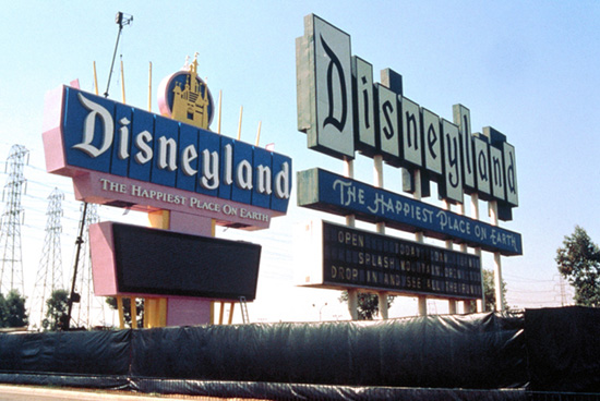 Signs of the Times That Have Welcomed Guests to the Disneyland Resort Since 1955
