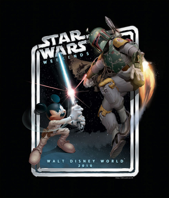 Star Wars Weekends 2010 Logo