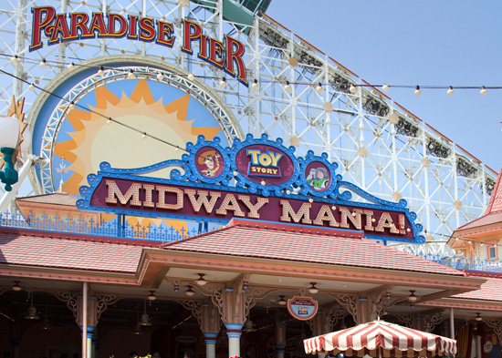 Toy Story MidwayMania! at Disney California Adventure Park