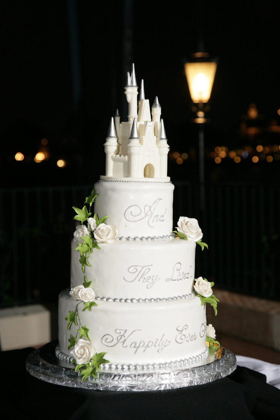 Cinderella Castle As A Birthday Cake