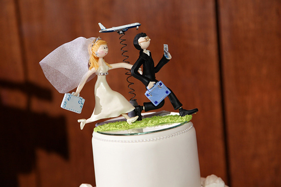 Untraditional Cake Toppers