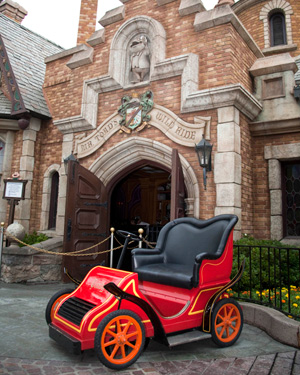Mr. Toad's Wild Ride at Disneyland Park