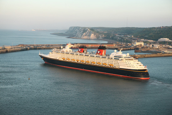 Disney Magic on its First Northern European Voyage