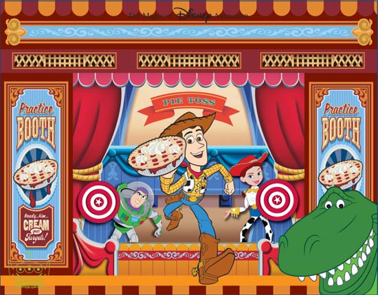 Toy Story Mania Cel