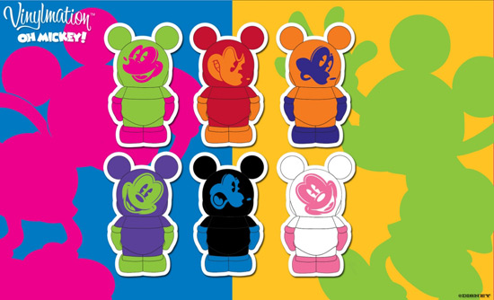 Oh Mickey! Vinylmation