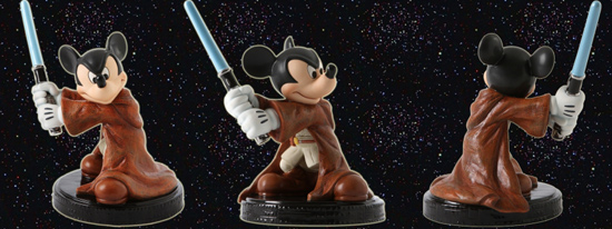 Jedi Knight Mickey Mouse