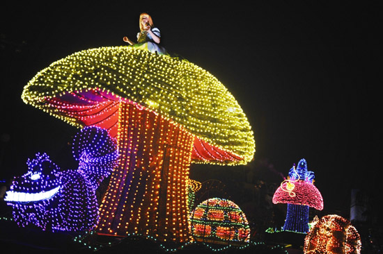 Main Street Electrical Parade at Walt Disney World